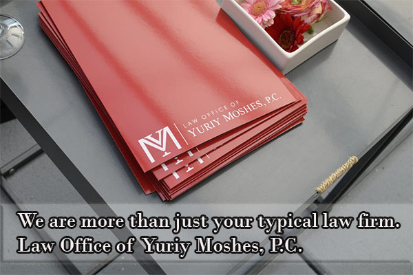 Law Office of Yuriy Moshes, P.C. is a full-service law firm with a focus in real estate, foreclosure defense, personal injury, and labor and employment matters in the New York and New Jersey area.