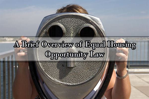 equal housing opportunity, discrimination lawyers, discrimination lawyer