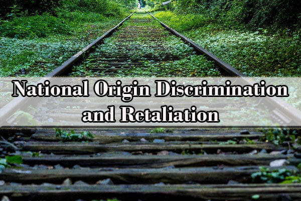 National Origin Discrimination lawyer
