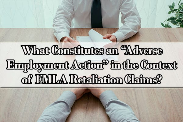 what is an adverse employment action