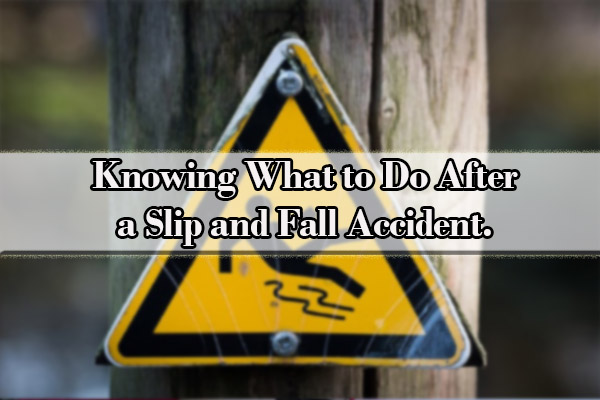 slip and fall accident lawyers