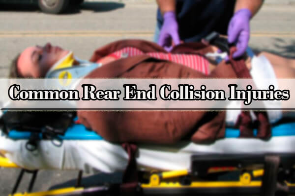 rear ended injuries