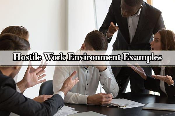 hostile work environment definition