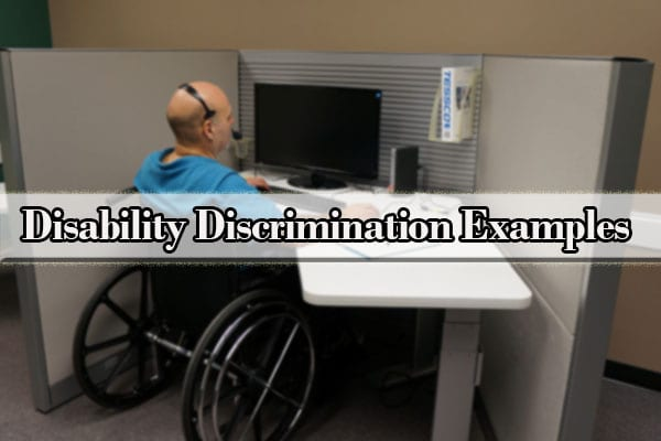 disability discrimination examples
