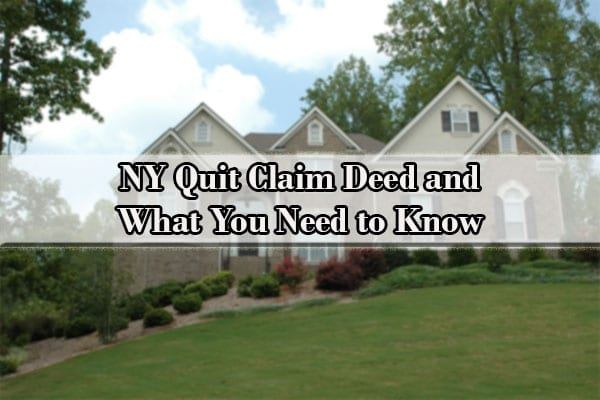 quit claim deed ny