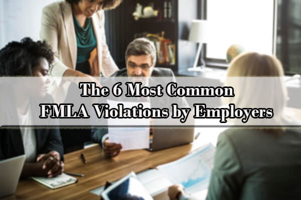 fmla violations by employers