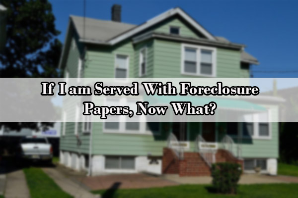 bankruptcy to avoid foreclosure