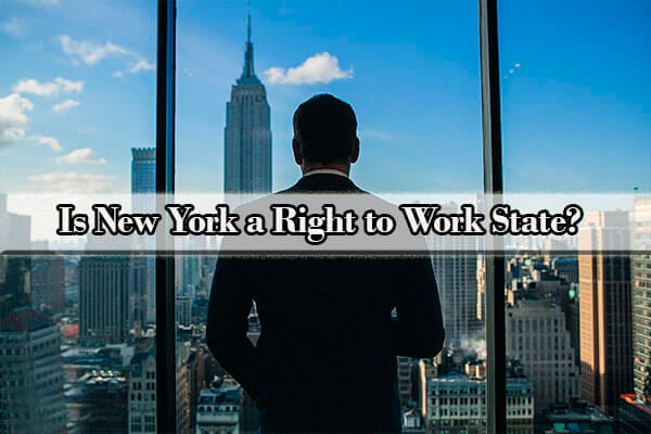 is ny a right to work state