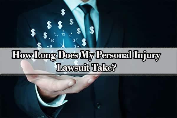 personal injury lawsuit timeline