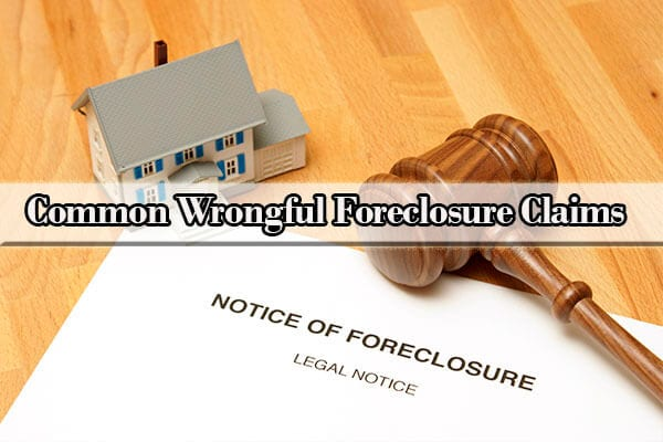 suing for wrongful foreclosure
