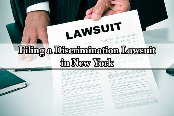 filing a discrimination lawsuit