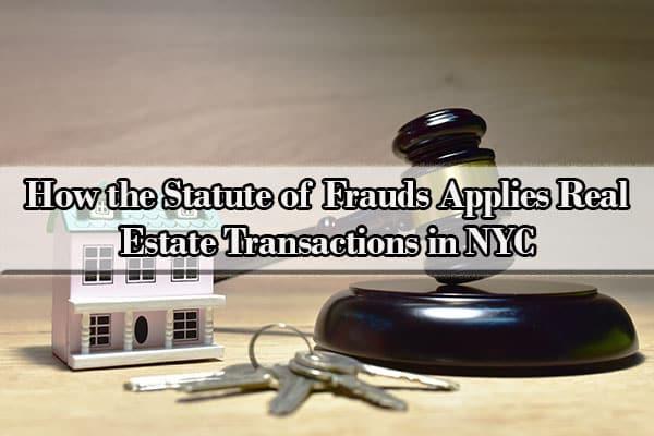 new york state statute of frauds